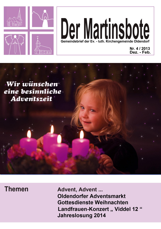 Deckblatt Martinsbote