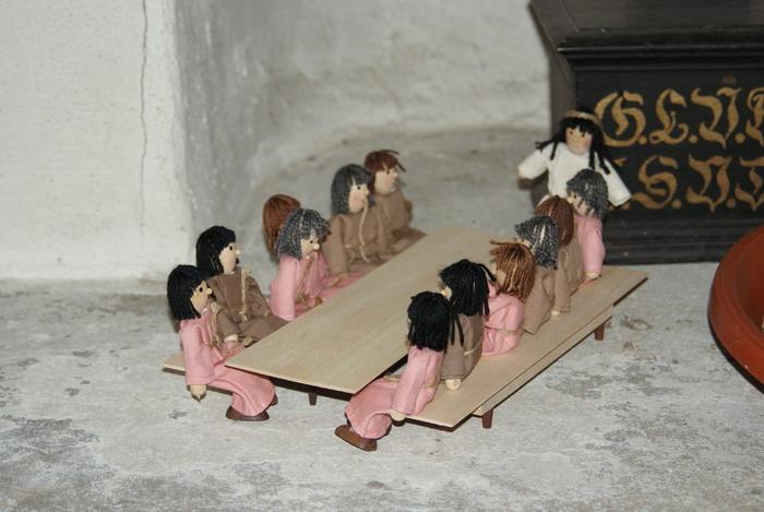 Jeuse feiert Abendmahl mit seinen Jüngern
