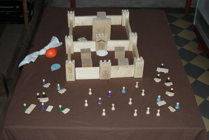 Jesus im Tempel von Jerusalem