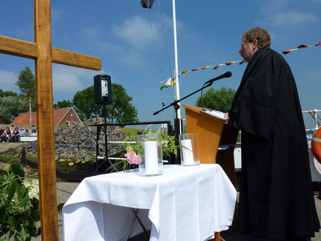 Predigen auf der Fähre