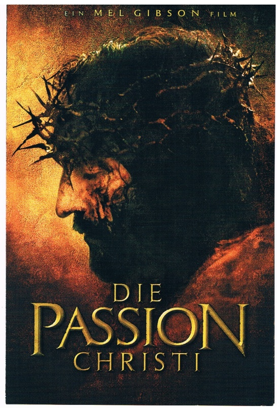 Die Passion Christi - Film-Plakat