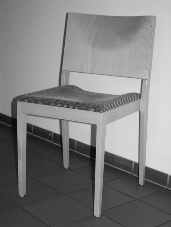 Stuhl-grau