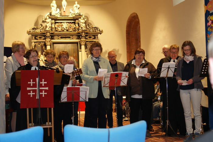 Der Kirchenvorstand als Chor