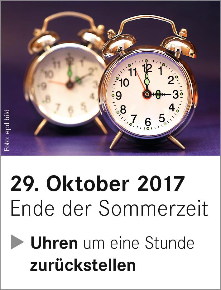 Ende Der Sommerzeit Kirchengemeinde Oldendorf